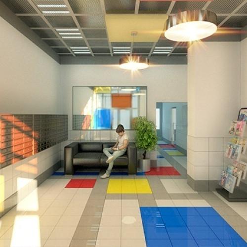 ЖК Нью-Тон, отделка, квартиры с отделкой, квартиры, комната, описание, холл, новостройка, фасад, дом